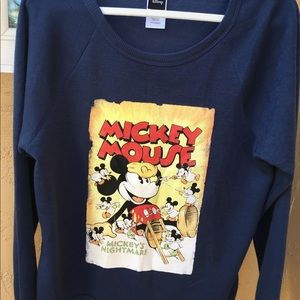 DISNEY MICKEY MOUSE NIGHTMARE SWEATER